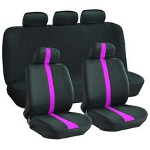9Pcs/Set Universal Car Seat Cover Full Covers Auto Interior Styling Decoration Protector
