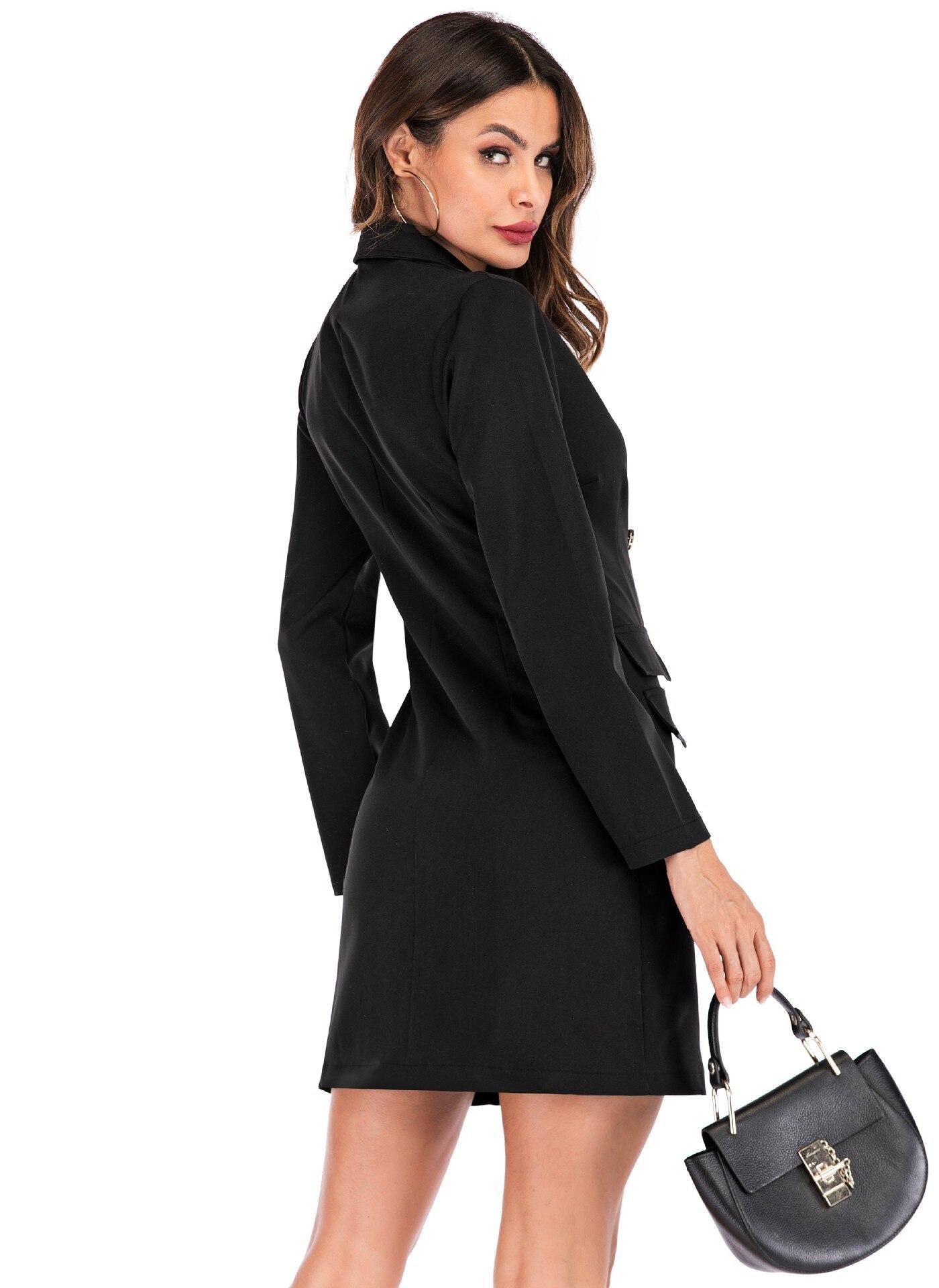 Rising On Spring Women Blazer Coat New Casual Jacket long for women Work Wear