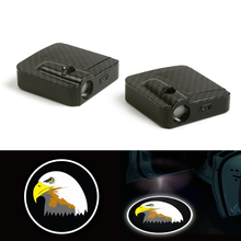 Wireless Fit For Eagle Cartoon Courtesy Car Logo Door Ghost Shadow Laser Projector Light 12V