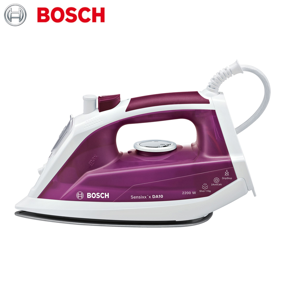 лучшая цена Electric Irons Bosch TDA1022010  household appliances laundry steam iron ironing clothes