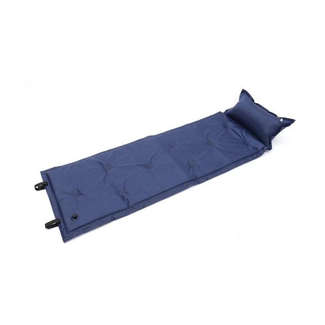 Self Inflating Camping Roll Mat Sleeping Bed Inflatable Pillow Mattress 2