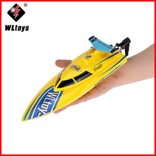 WL911 2.4G Remote Control High Speed 24km/h RC Boat Ships Toys Speedboat Model for Kids Grownups Hobbies Racing ZLRC