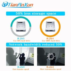 Image 4 - Tiananxun sistema de seguridad CCTV H.265, 48V, NVR poe, 4/8 canales, para cámara POE, IP, DVR, 5MP, 4MP, 1080P, videovigilancia, onvif