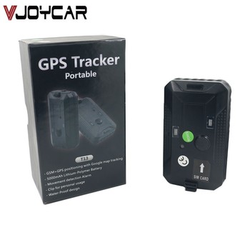 Personal GPS Tracker Elderly Human Locator Long Battery Life Big SOS Button Geo Fence Microphone Voice Monitor Over Speed Alert