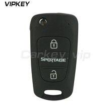 Складной дистанционный ключ с 3 кнопками 434 МГц toy48 чипом