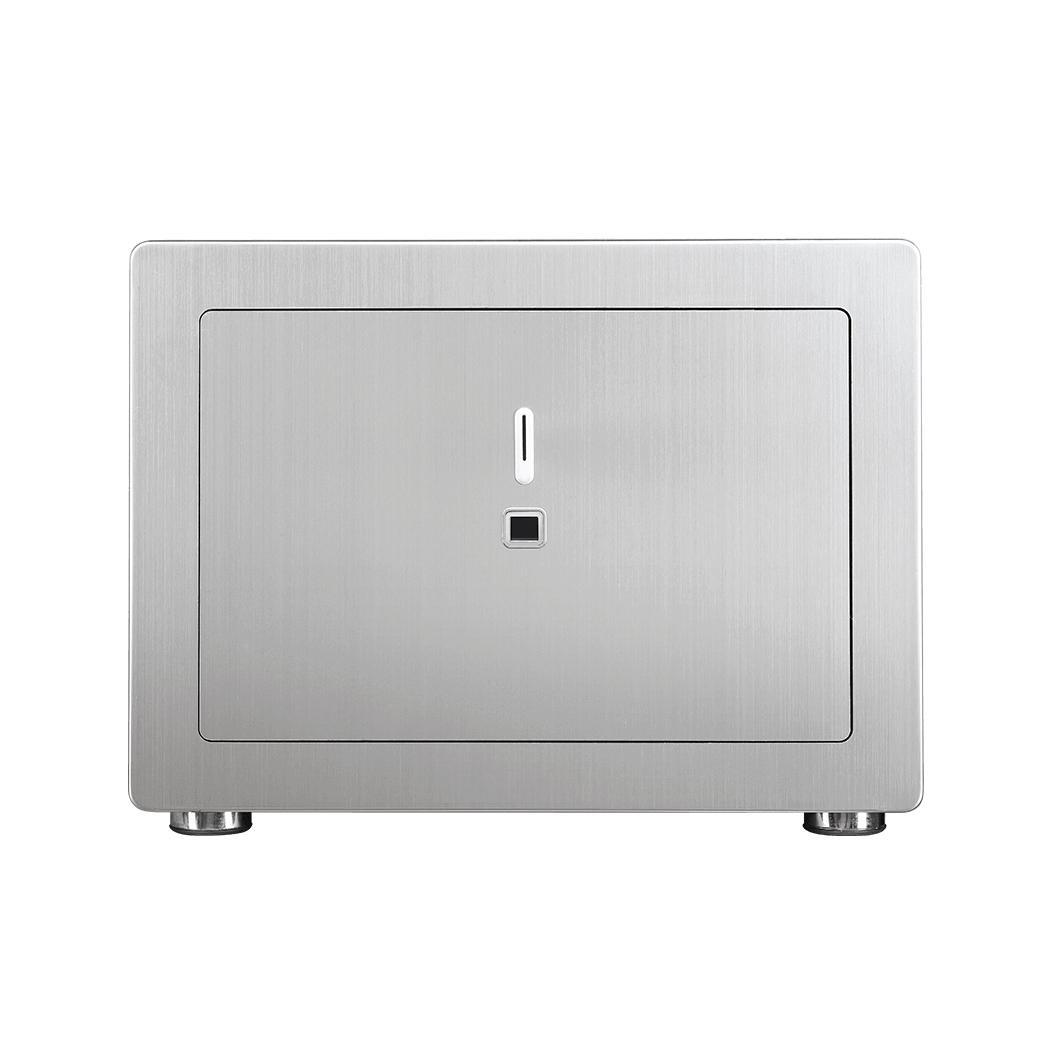 Household Smart Safe Box Anti theft Strongbox Key Fingerprint Electronic 100