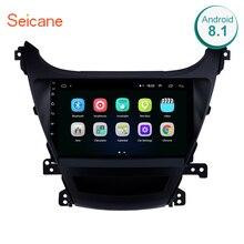Seicane 9 «2din Android 8,1 автомобильный радиоприемник стерео gps для 2014-2016Hyundai Elantra HD сенсорный экран WiFi мультимедийный проигрыватель головное устройство