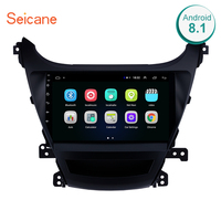 Seicane 9 2din Android 8.1 Car Radio Stereo GPS For 2014 2016Hyundai Elantra HD Touchscreen Wifi Multimedia Player Head Unit