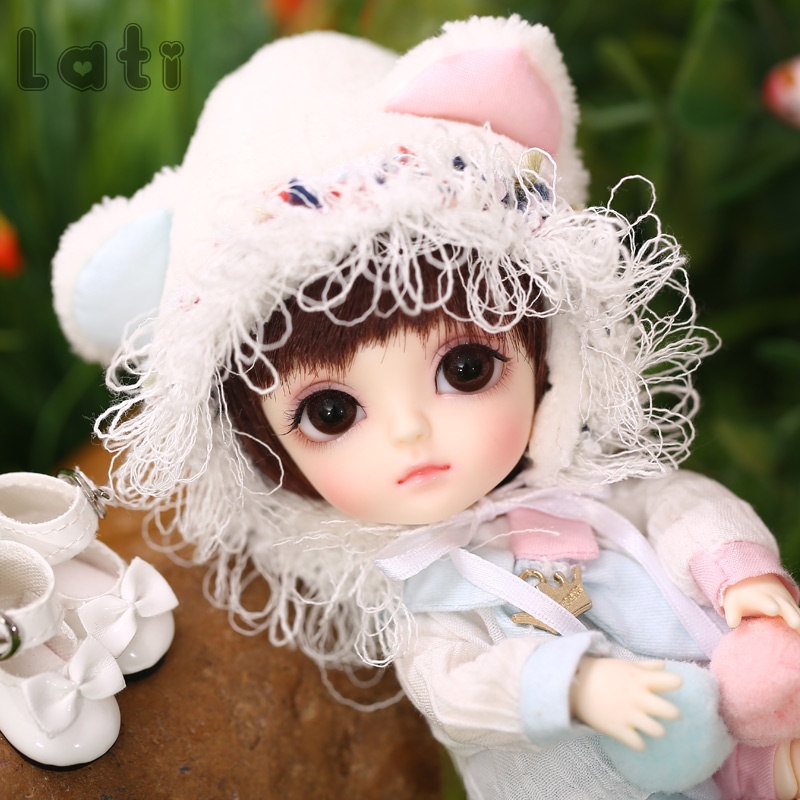 New Arrival Lati Yellow Happy 1/8 BJD SD YoSD Doll High Quality Cute Girl Toys Joint Doll