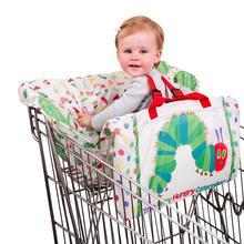 2-в-1 корзина крышка, детская подушка для тележки игровой коврик для обеденного стула подушки Чехол антибактериальные безопасный Портативный Pad