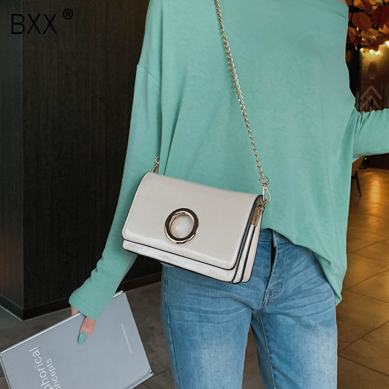 bxx Industrious Female Chic Chain Small Handbag 2019 New Arrival Womens Single Shoulder Crossbody Bag Female All-match Flap Bag He419 High Quality And Low Overhead