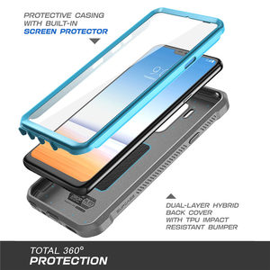Image 3 - עבור LG G7 ThinQ מקרה כיסוי 6.1 inch SUPCASE UB פרו מלא גוף מוקשח נרתיק קליפ מגן מקרה עם מובנה מסך מגן