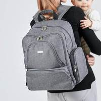 New Mummy Backpack Zipper Large Capacity Travel Maternity Bag Diaper Baby Bag Multifunctional Nursing Bag Backpack Baby Care