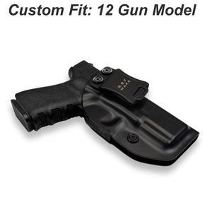 Image 1 - IWB/OWB ยุทธวิธี KYDEX ปืน HOLSTER Glock 19 Glock 17 25 26 27 28 31 32 33 43 ภายในปกปิดพกพาปืนพกอุปกรณ์เสริมกระเป๋า