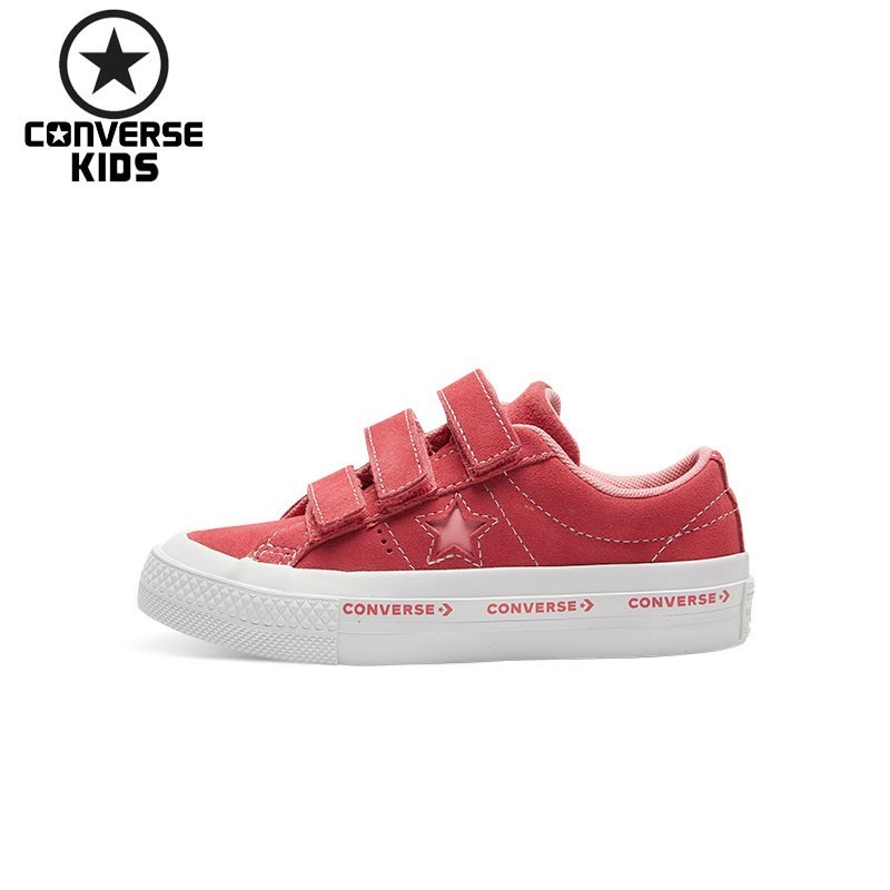 CONVERSE Children s Shoes One Star Search Fur Magic Subsidies Girl Leisure  Time Anti Slippery Shoes  660038C H-in Sneakers from Mother   Kids on ... 158d130a931