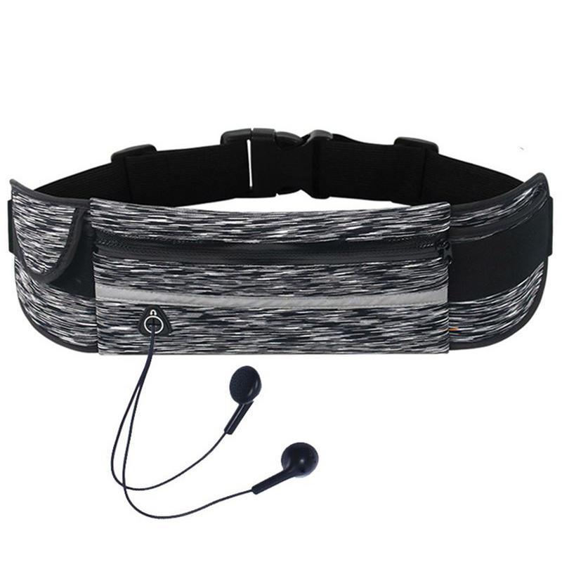 Portable Waist Bag Pack For Outdoor Running Belt Pockets Waterproof Waist Bags Belt Packs Women Male Men Hiking Cycling Climbing