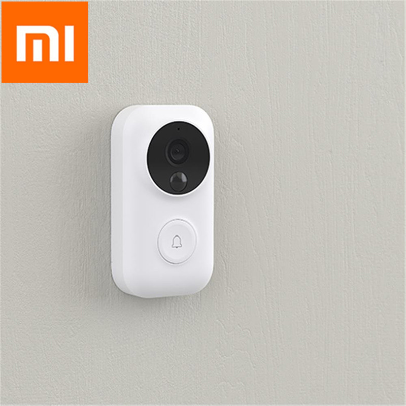 Xiaomi AI Face Identification 720P IR Night Vision Video Doorbell Motion Detection SMS Push Intercom Xiaomi Video DoorbellXiaomi AI Face Identification 720P IR Night Vision Video Doorbell Motion Detection SMS Push Intercom Xiaomi Video Doorbell