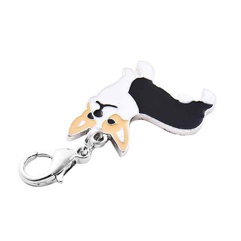 สัตว์เลี้ยง Cork Shape จี้สุนัขโลหะไม่เคยจางหายไปจี้สุนัขแสดง Identity ตกแต่งกลางแจ้งจอแสดงผลอุปกรณ์