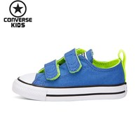 CONVERSE Children's Shoes Low Help Magic Subsidies Canvas Anti slippery Breathable Shoes #754285C