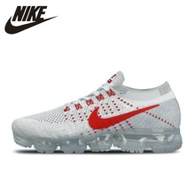 Nike Air Vapormax Flyknit Women's Running Shoes Breathable Non-slip Shock Absorbing Outdoor Sneakers #849558-006 все цены