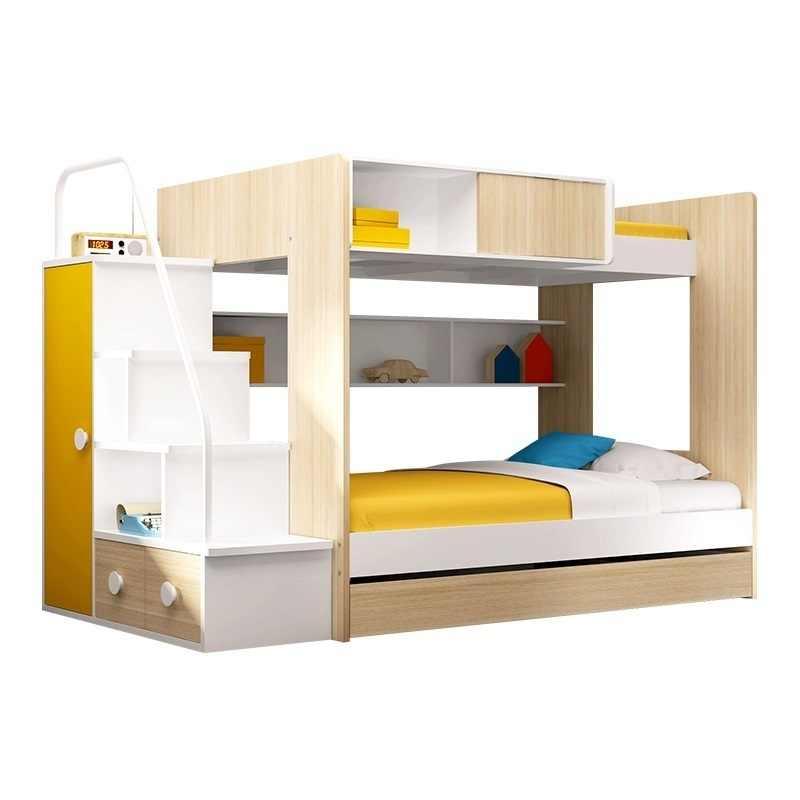 Box Lit Enfant Frame Tempat Tidur Tingkat Letto Kids Furniture Quarto Yatak Cama Moderna Mueble De Dormitorio Double Bunk Bed