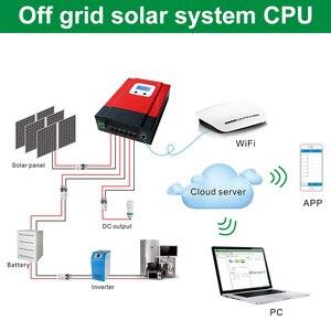 Image 2 - Контроллер заряда солнечной батареи ESmart3 с ЖК дисплеем 40 А 60 А, максимальный В постоянного тока с RS485 и датчиком температуры батареи 12 В/24 В/36 В/48 в