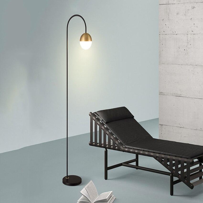 Современный светодиодный светильник для пола, новый стиль, кабинет, розовый, золотой, черный, постсовременный, креативный, вертикальный све