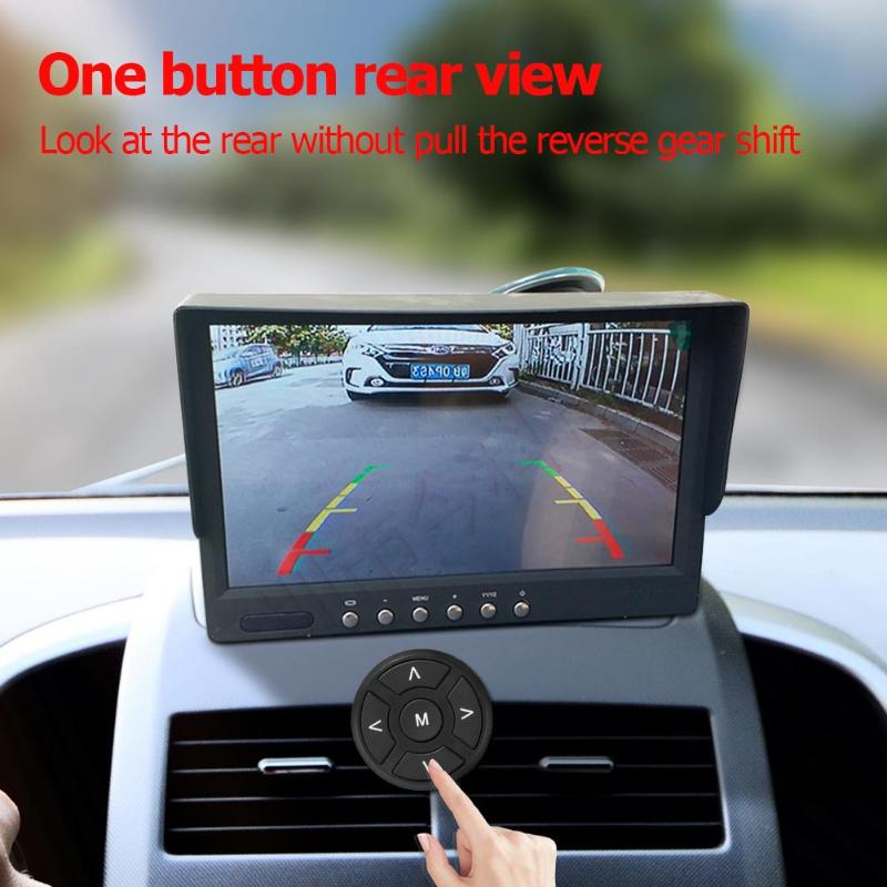 Car DVR 360 Degree Bird View System 4 Camera Panoramic Remote Control Car DVR Recording Parking Front+Rear+Left+Right View Cam