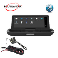 8 inch one button image integrated machine 4LED driving recorder GPS navigation reversing Android 4G