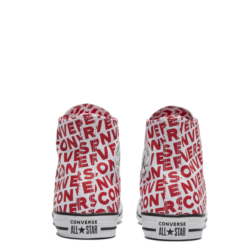 Converse officiel Chuck Taylor All Star haute aide unisexe Skateboarding chaussures à lacets plat Sneaksers # 163953c - 4