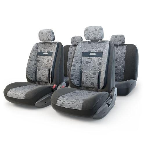 Cushion Cover Автопрофи COM-1105 Element (M) COMFORT, 11 предм... pocket, 6 zippers, jacquard, расцветка Element mattress cover fiber comfort