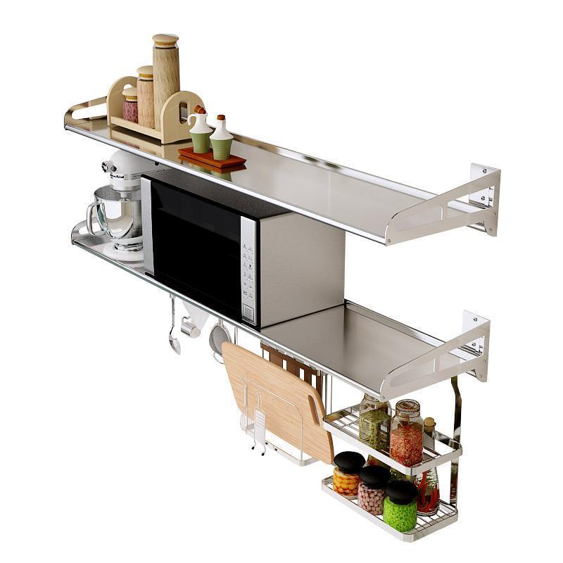 Organisateur Dish Drying Organization De Etagere Stainless Steel Cozinha Cocina Organizador Cuisine Kitchen Storage Rack Holder