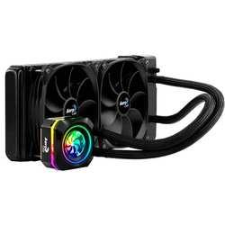 Низкий клиренс шланг Хладагент Системы RGB Aerocool Пресс L240 процессоров Intel и AMD