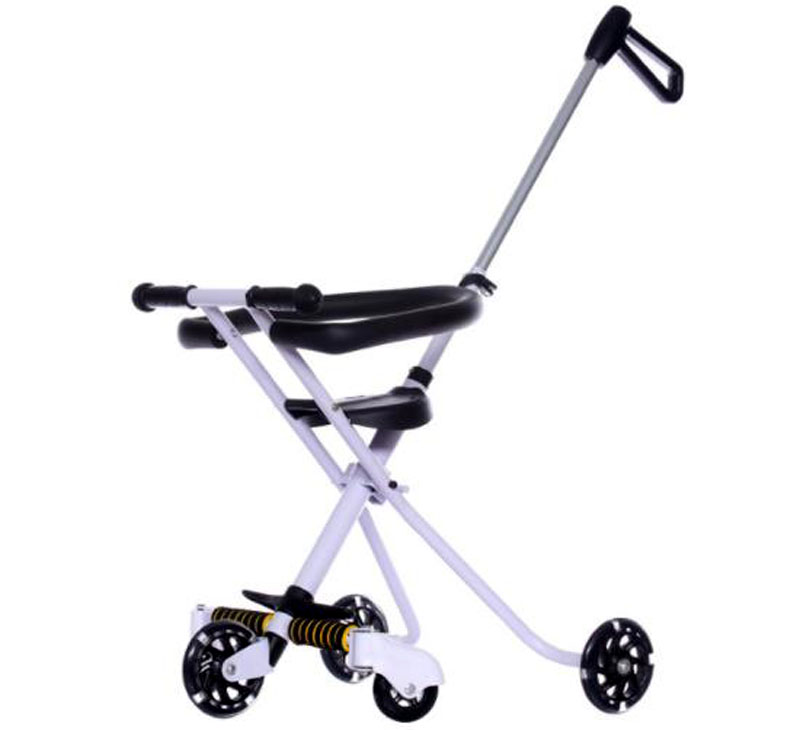 Lightweight Folding Pram Portable Folding Steel Baby Tricycle Stroller Lightweight