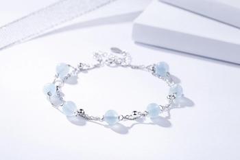Aigue Marine Cristal Bracelet