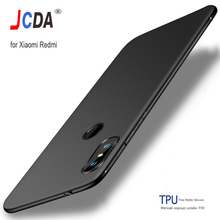 Luxury Silicone Case for Xiaomi Redmi 7 Pro Cover High Quality Soft TPU Fine Matte Carcase Capa Shockproof GO
