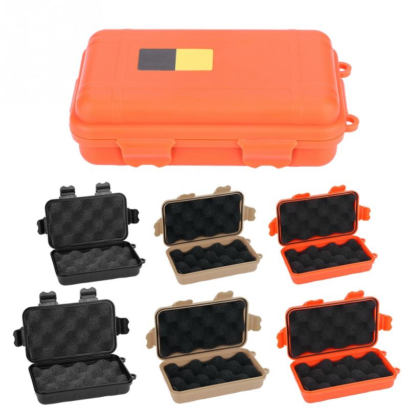 EDC Outdoor Survival Box Waterproof Shockproof Safety Equipment Case Portable Plastic Sealed Tool Box Dry Box First Aid Box(China)