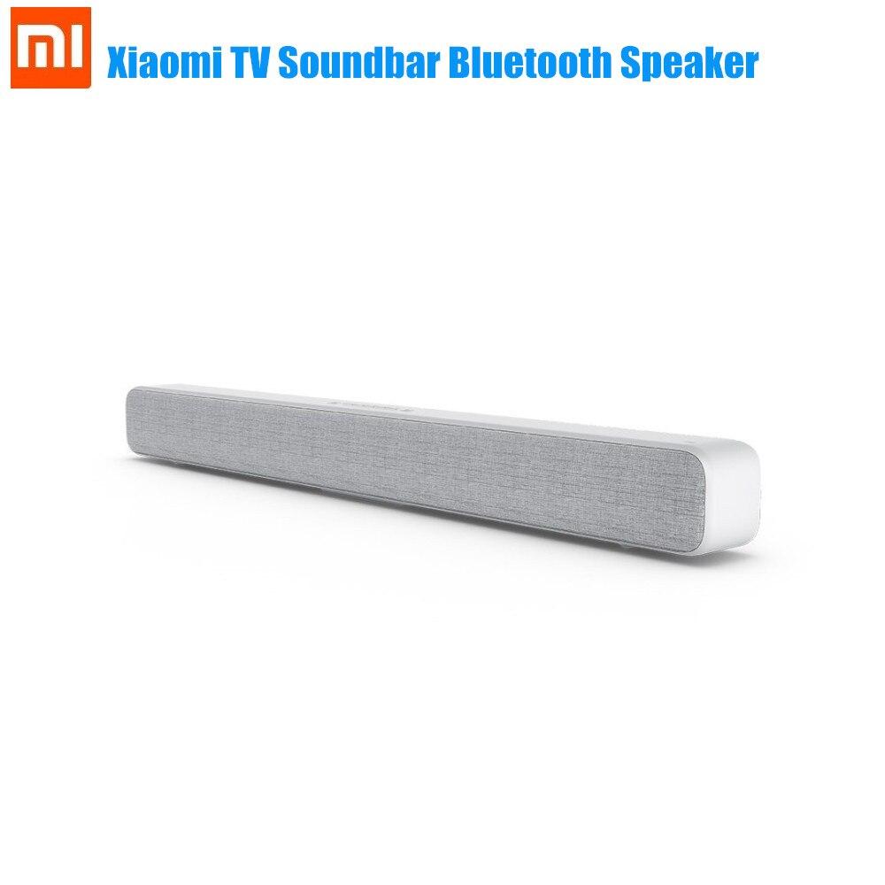 Xiaomi sans fil TV barre de son Bluetooth haut-parleur élégant tissu Support Bluetooth lecture optique SPDIF AUX pour la maison