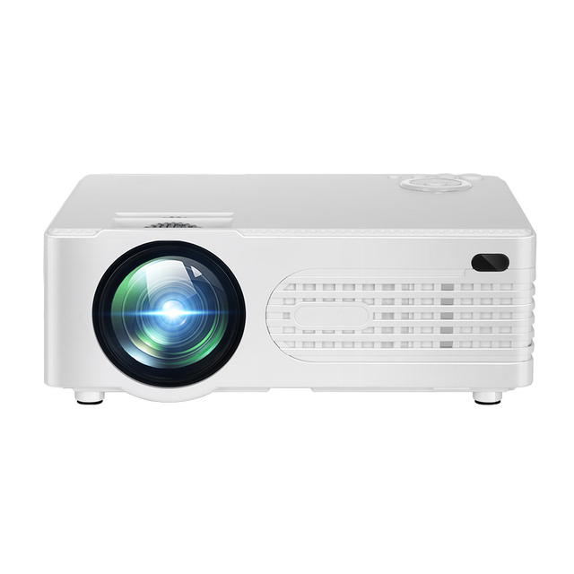Mini Projector Portable LED Projector Max. 120 Inch Display Compatible with HD USB SD VGA AV Input for Video Meeting Projector
