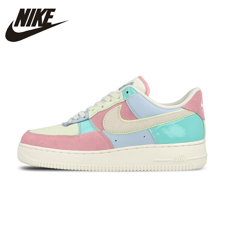NIKE Air Force 1 AF1 Easter Original Mens&Womens Skateboarding Shoes Stability  Breathable Sneakers #AH8462-400