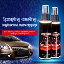 Spray antiarañazos para coche, revestimiento de cerámica líquido Chapado en cristal, 9H, cuidado de la pintura, cristal pulido, 100ml