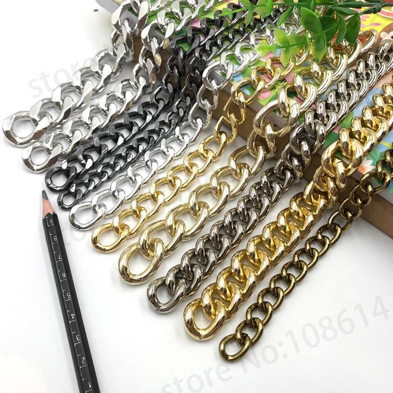 FäHig Einem Meter Diy Kette Für Leder Metall Pblate Schmücken Kette Tonerde Kette Rost Kette Für Leistung Bekleidungs Geöffnet Clear-Cut-Textur Ketten Heimwerker