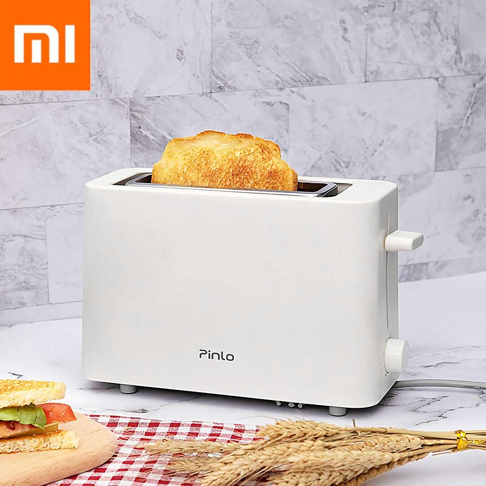Xiaomi Youpin Pinlo Elétrica Pão Torradeira Máquina de Pão Fabricante De Cozimento de Aço Inoxidável Para Aquecer Cozinha Brinde Sanduíche 500 w