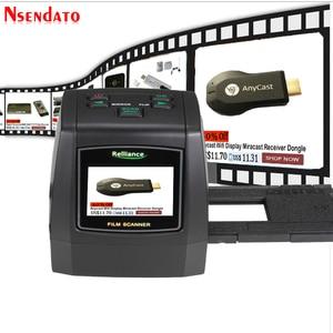"""Image 1 - 14MP/22MP High Resolution Photo Foto Film Scanner Convert 35 mm 8 mm Color 2.4"""" LCD Slide Viewer Film Digital Negative Scanner"""