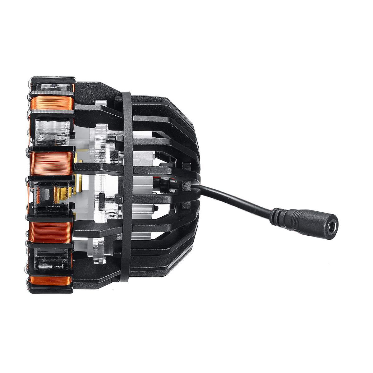 MK1 alliage d'aluminium/acrylique Tony 1:1 Arc réacteur bricolage modèle Kit LED lampe de poitrine USB film accessoires cadeaux Science jouet - 5