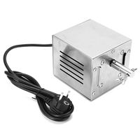 EU/US Plug Electric BBQ Motor Stainless Steel Pig Chicken Grill Rotisserie Roaster Cooking BBQ Tools Kitchen Accessories 25W