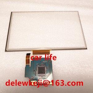 Polegada 15 8 pinos Original Digitador Da tela de toque do painel de vidro Lente para C080VTN03.1 GT-R car DVD player gps navigation LCD