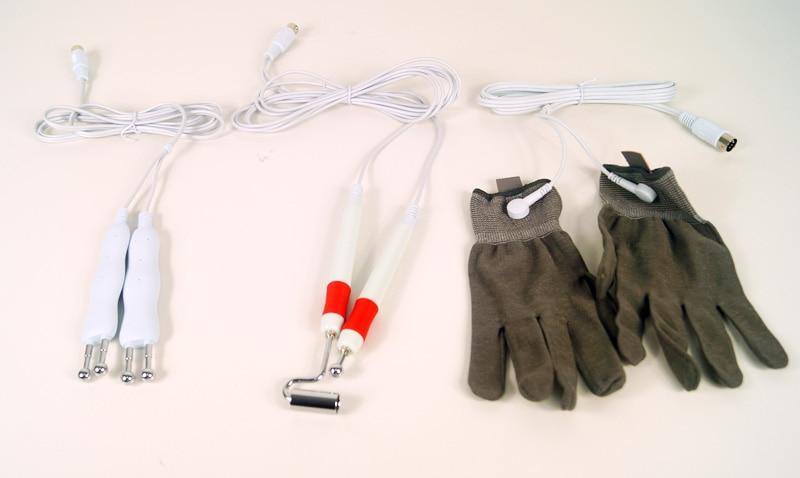 AURO 2019 Neue BIO Elektrische Elektroden Haut Hebe Maschine für Falten Entfernung/Gesichts Hebe/Gesichts Straffen mit Handschuhe - 3