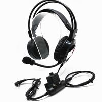 FULL Medium Walkie Talkie Headphone Noise Cancelling Headset for Motorola EP450 GP300 GP88 CP040 GP68 GP2000 GP308 CP200