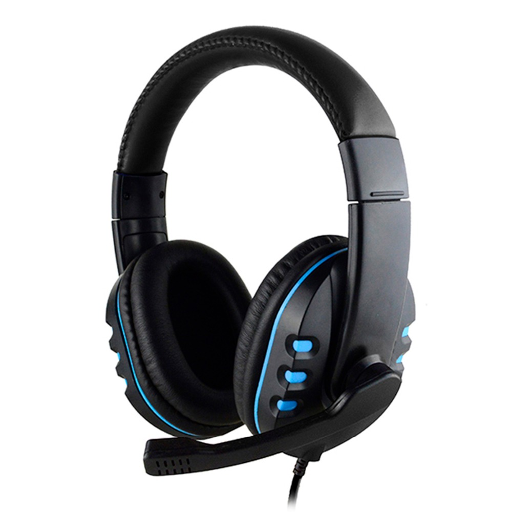 brand SOONHUA Wired Gaming Headset Deep Bass Game Earphone 3.5mm Computer Gamer Headphones With HD Microphone for Computer image